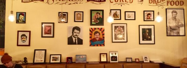 Guys, There Is A Ron Swanson Cafe In Chicago!