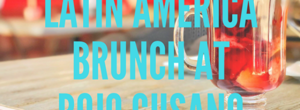 Latin American Brunch at Rojo Gusano