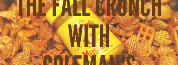 The Honey Mustard Fall Crunch with Colman's Mustard