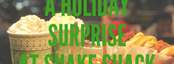 A Holiday Surprise at Shake Shack